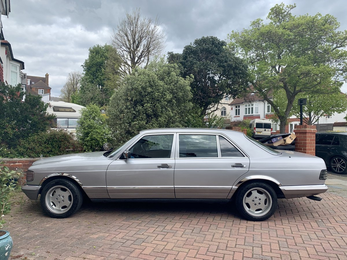 1984 Mercedes-Benz 500SEL S Class Classic Luxury Sedan For Sale (picture 3 of 6)
