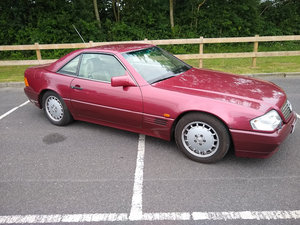 1990 Mercedes 300 SL R129 for Auction Friday 12th July For Sale by Auction