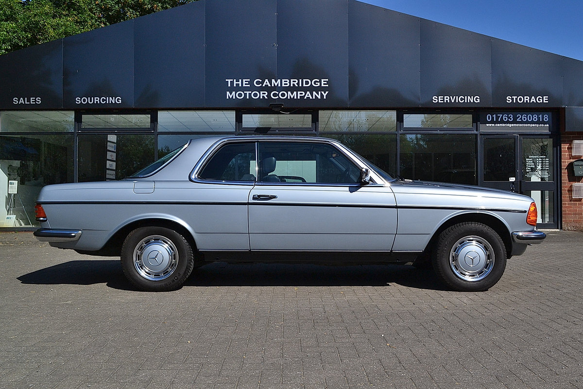 Mercedes 280 CEW Coupe Auto 1984 SOLD (picture 1 of 6)