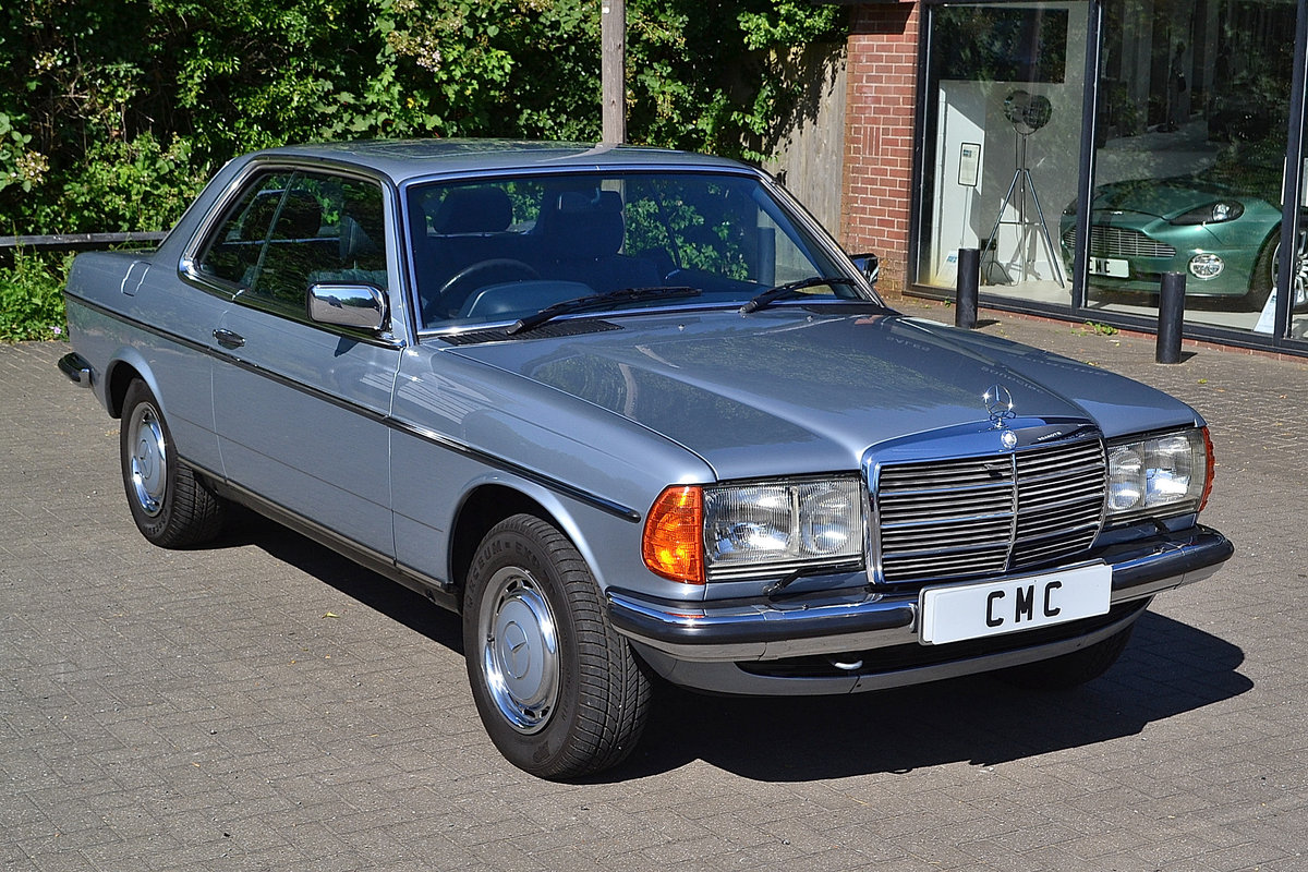 Mercedes 280 CEW Coupe Auto 1984 SOLD (picture 3 of 6)