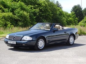 1997 Mercedes-Benz SL 500 For Sale by Auction