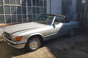 1986 R107 300 SL - Barons Tuesday 16th July 2019 SOLD by Auction