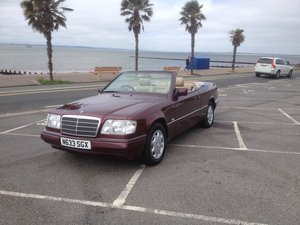 1996 W124 Cabriolet - Barons Tuesday 16th July 2019 SOLD by Auction