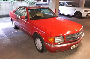 1989 500 SEC - Barons Tuesday 16th July 2019 For Sale by Auction
