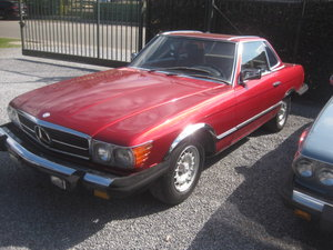 Mercedes SL380 Cabriolet 1985 (hobby Project ) For Sale