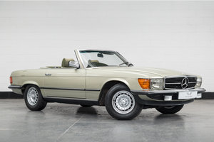 1982 Mercedes Benz 280SL-Outstanding Low Mileage Example