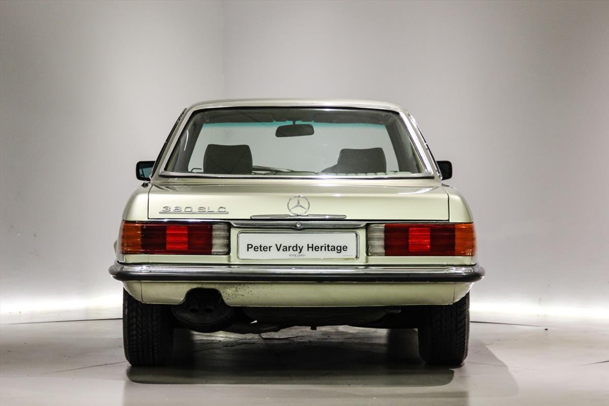 1981 Mercedes 380SLC Automatic - 17,138 Miles Only For Sale (picture 5 of 6)