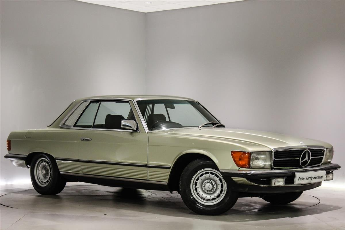 1981 Mercedes 380SLC Automatic - 17,138 Miles Only For Sale (picture 1 of 6)