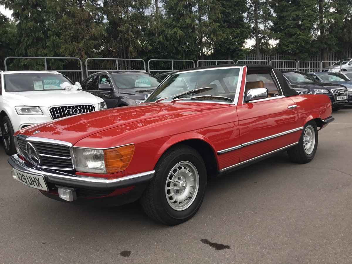 1984 Mercedes 280 Sl Auto (ONLY 25203 MILES) For Sale (picture 1 of 6)
