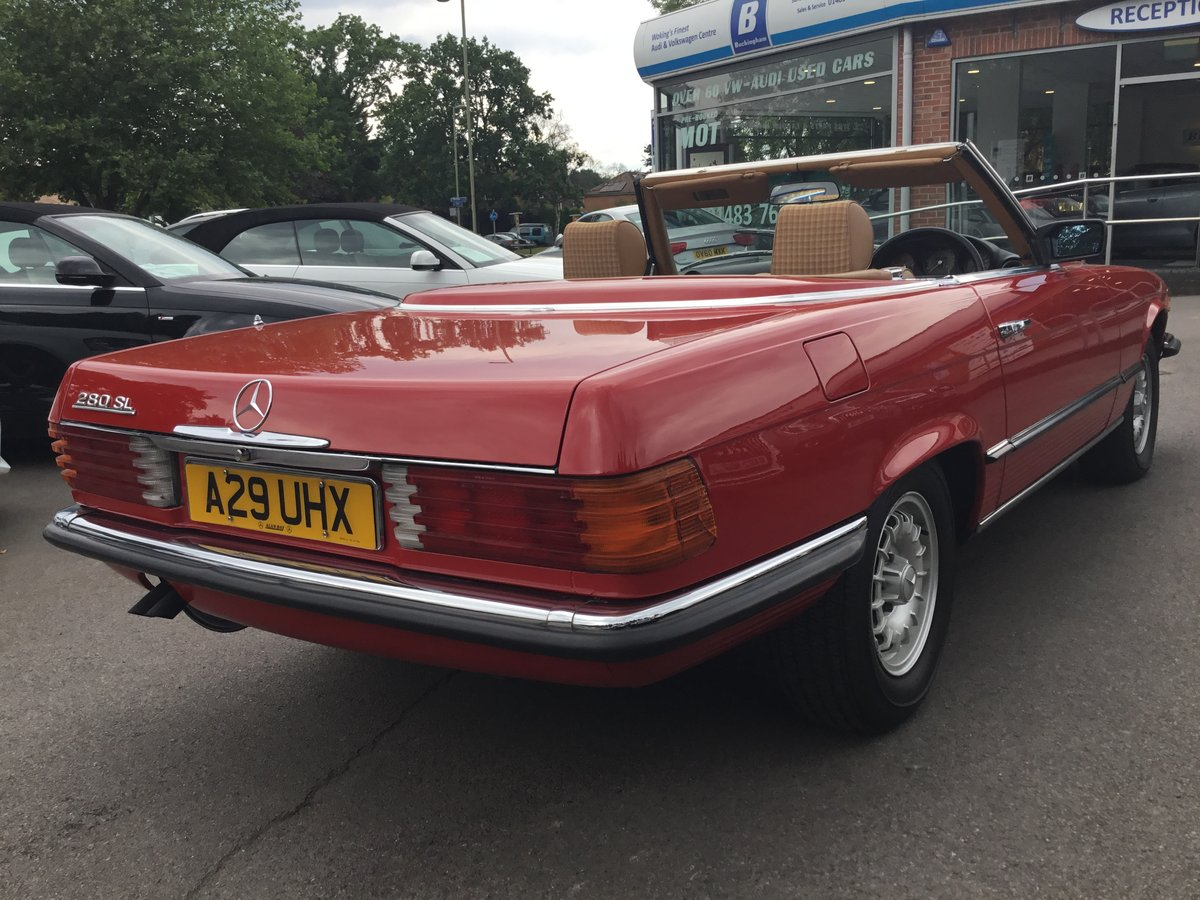 1984 Mercedes 280 Sl Auto (ONLY 25203 MILES) For Sale (picture 4 of 6)