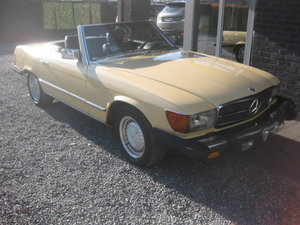 SL380 CABRIO MODEL 107 1982 ROSTFREE! CALIFORNIA ! For Sale