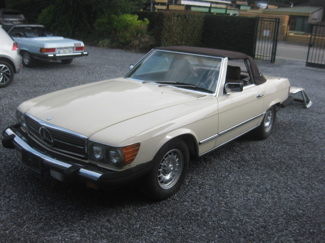 Mercedes SL380 Cabrio 1985 model 107, 80000miles Carfax  ! For Sale (picture 2 of 6)