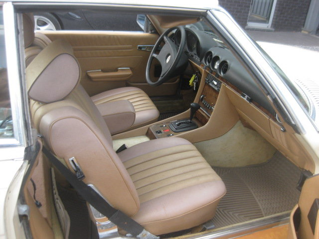 Mercedes SL380 Cabrio 1985 model 107, 80000miles Carfax  ! For Sale (picture 4 of 6)
