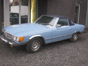 1980 Mercedes SL 450 Cabriolet Model 107, Baby bleu ! For Sale