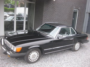 1986 Mercedes SL 560 CABRIO MODEL 107, 4PLACES ! 1OWNER ! 95868MI For Sale