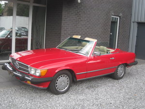 Mercedes SL 560 CABRIO LAST MODEL 107 ! 1989 BOBBY EWING  For Sale