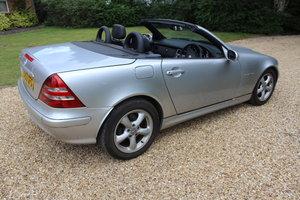 2003 Mercedes SLK 1.8 Auto