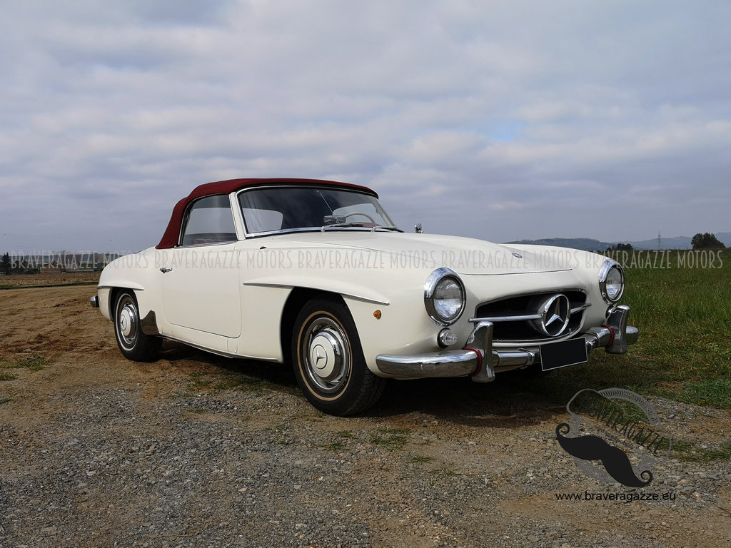 Mercedes-Benz 190 SL 1960, in good overall conditi For Sale (picture 1 of 6)