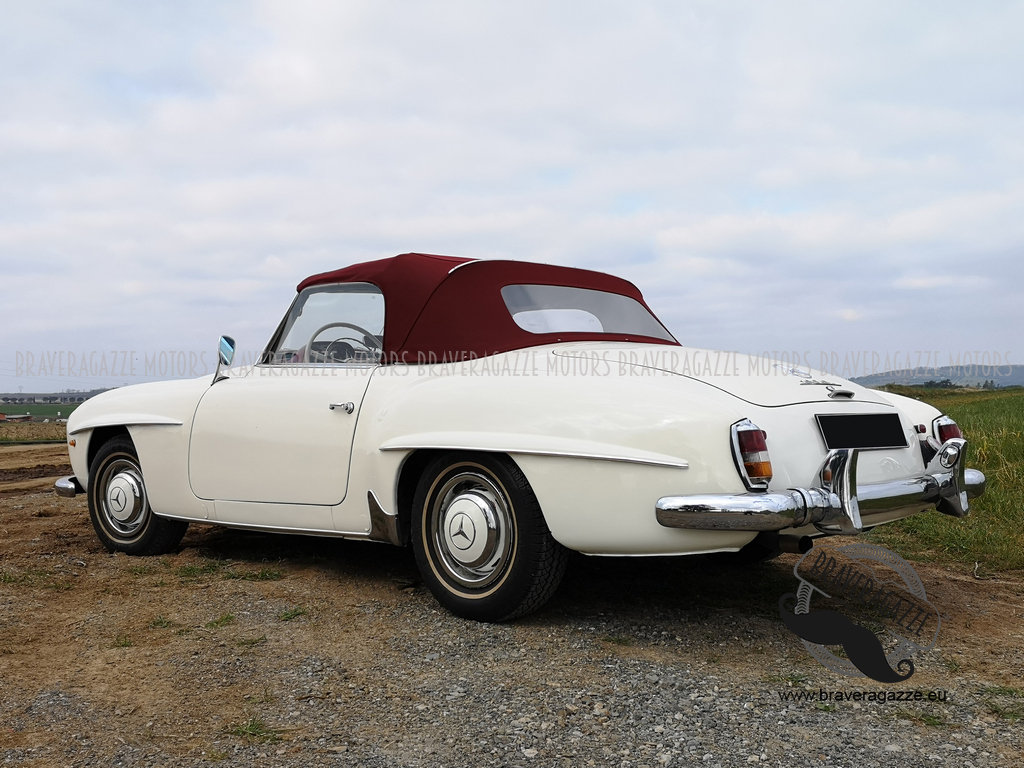 Mercedes-Benz 190 SL 1960, in good overall conditi For Sale (picture 2 of 6)