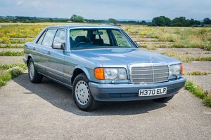 1990 Mercedes-Benz W126 560SEL - 142K Miles - FSH - (21 Stamps)  For Sale