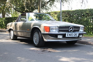 1987 Mercedes 420SL Just £14000 - £18000 For Sale by Auction