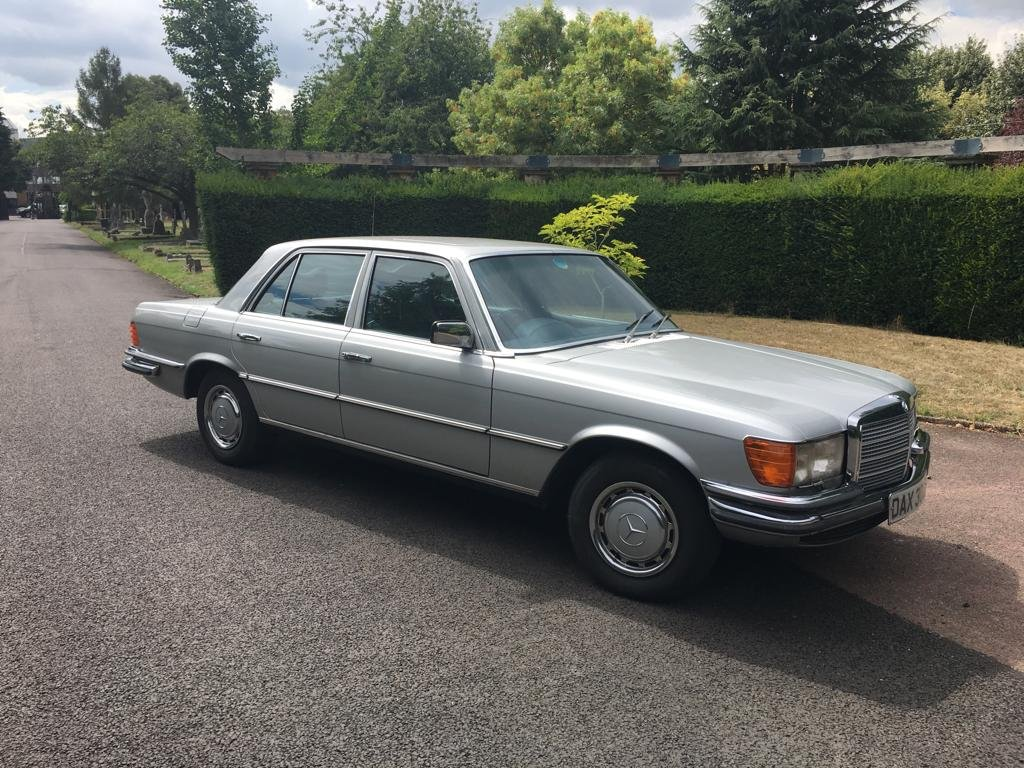 Mercedes 450SE W116 - Silver 1979 For Sale (picture 1 of 6)