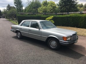 Mercedes 450SE W116 - Silver 1979 For Sale