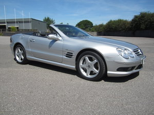 2002 Mercedes SL55 For Sale