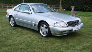 1999 Mercedes SL320 - Stunning and just 32,000 miles For Sale by Auction