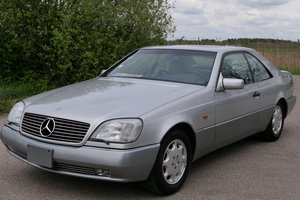 1996 Mercedes-Benz S600 Coupe V12 in perfect condition For Sale