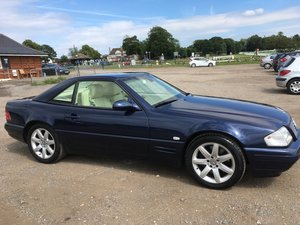 1998 Mercedes SL320 Dec 98 Sreg For Sale