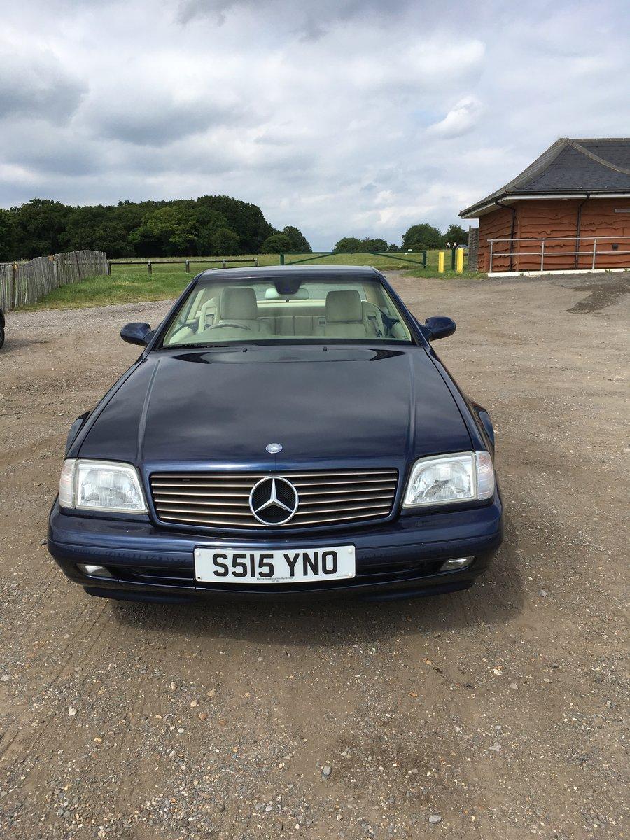 1998 Mercedes SL320 Dec 98 Sreg For Sale (picture 3 of 6)