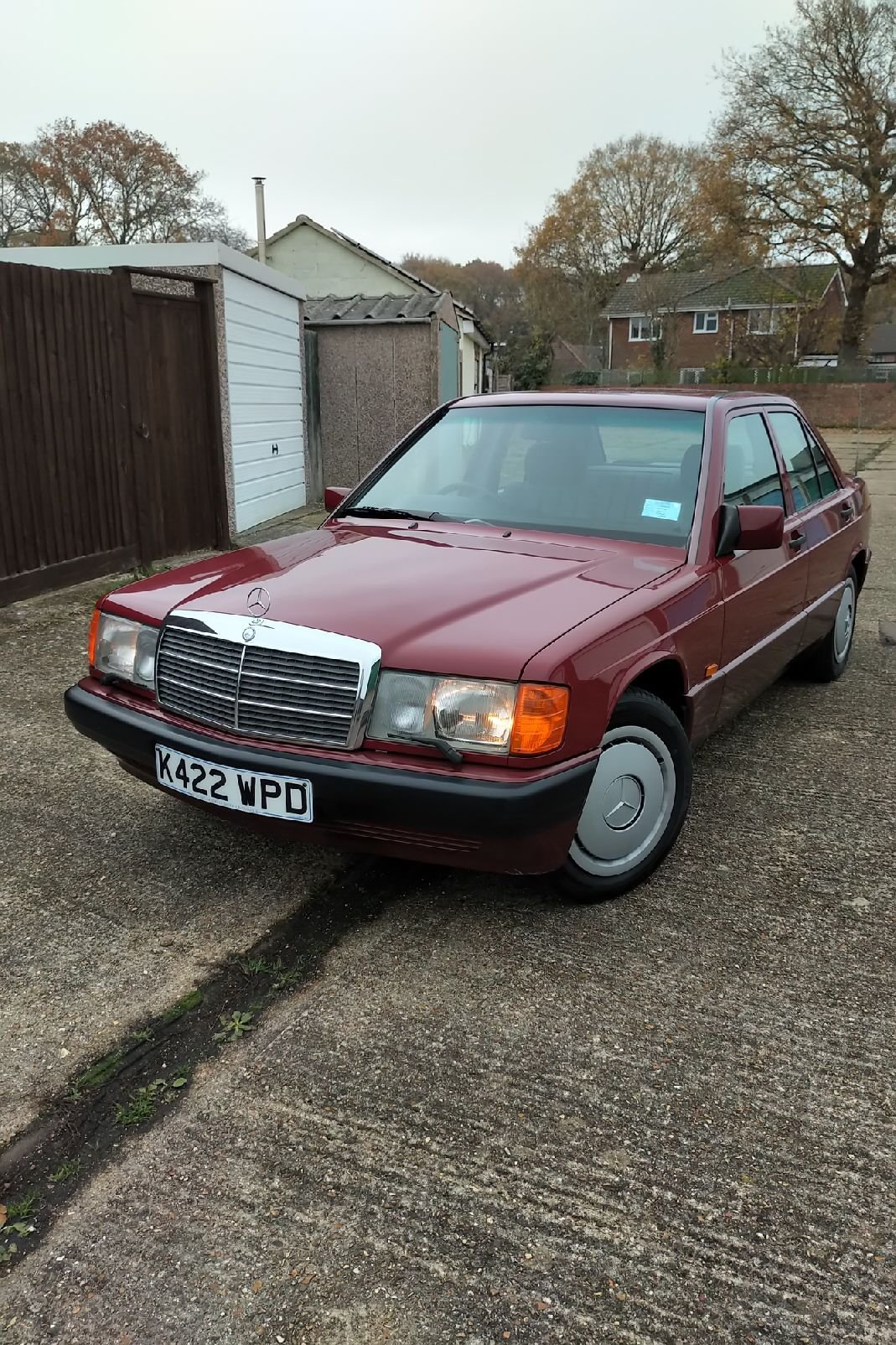 1992 Mercedes-Benz 190E, 12 Months MOT Lovely Cherished SOLD (picture 1 of 6)