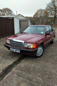 1992 Mercedes-Benz 190E, 12 Months MOT Lovely Cherished