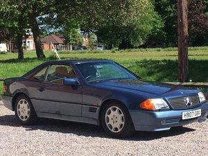 1991 Mercedes-Benz 300SL Auto For Sale by Auction
