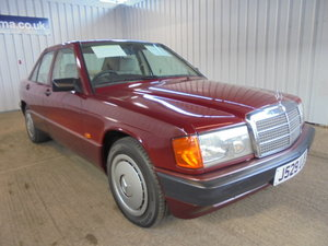 1992 ***Mercedes 190e - 1797cc - 4dr Saloon - 20th July*** For Sale by Auction