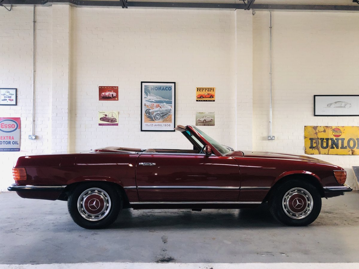 1972 R107 W107 350SL 350 SL - RESTORED CAR - STUNNING, PX  SOLD (picture 3 of 6)