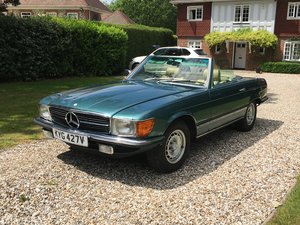 1980 Mercedes 450SL RHD Rare  For Sale