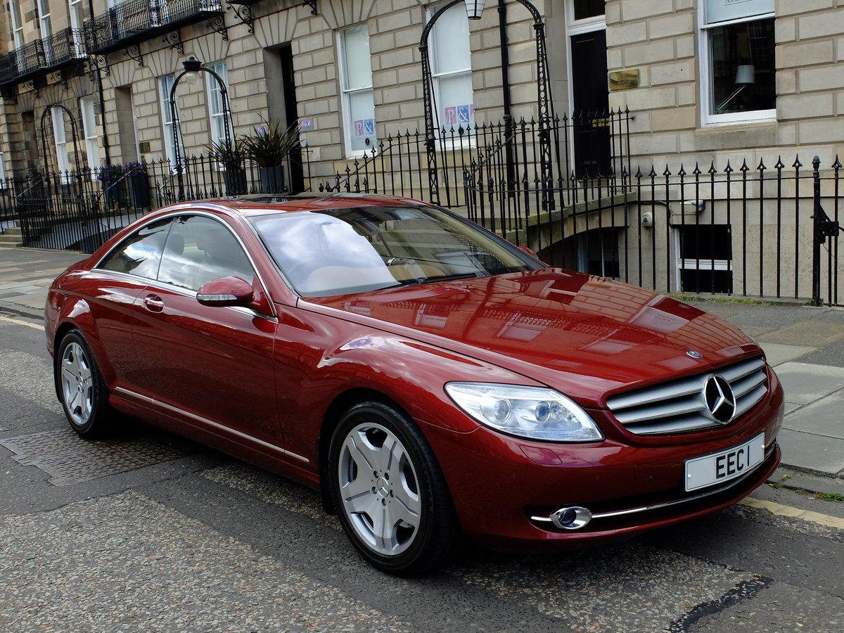12k In Miles >> 2007 Mercedes Cl 500 1 Owner 12k Miles Unrepeatable