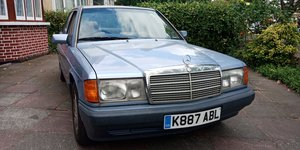 1992 Mercedes 190e 2.0 - 59k miles - Service History