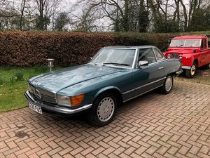 1985 Mercedes 380SL For Sale by Auction