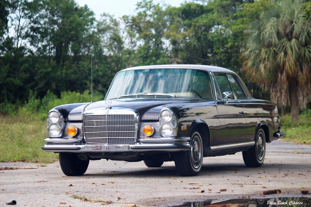 1971 Mercedes 280SE 3.5 Coupe Fresh engine Bronze $94.9k For Sale (picture 1 of 1)