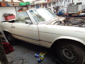 mercedes 350 sl 1972 stalled project For Sale