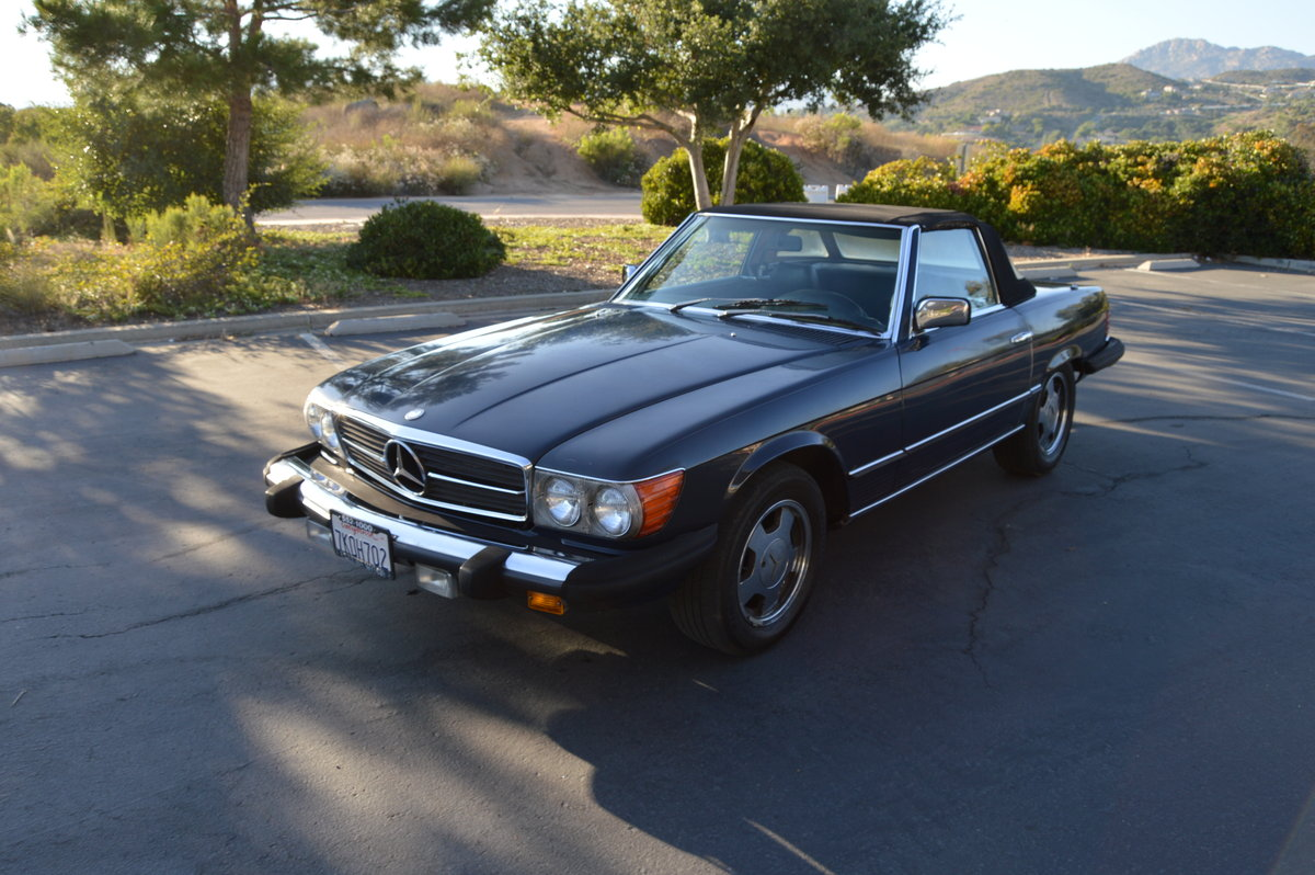 1981 Mercedes Benz 380SL SOLD (picture 1 of 1)