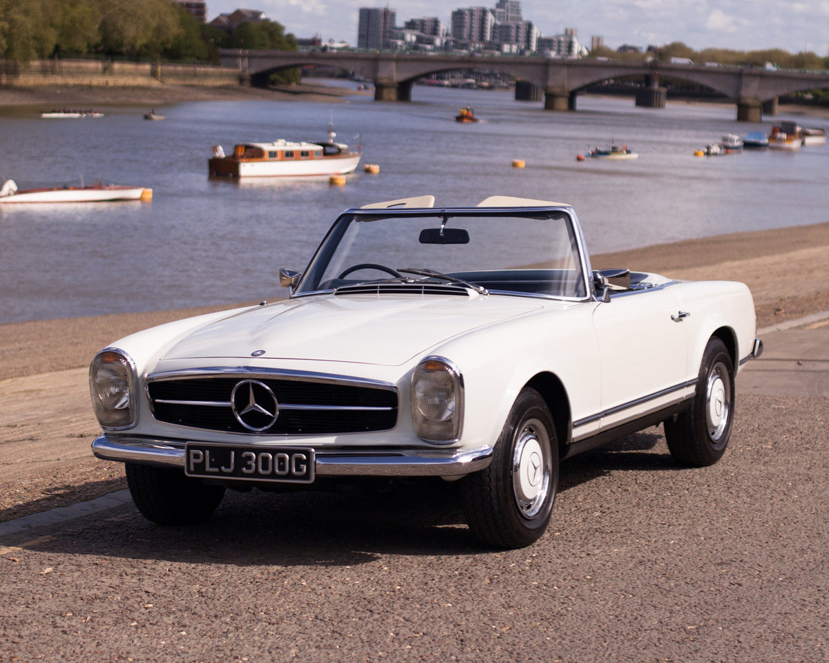1969 Mercedes-Benz 280SL Pagoda - Very Original! - RHD, Auto For Sale (picture 1 of 6)