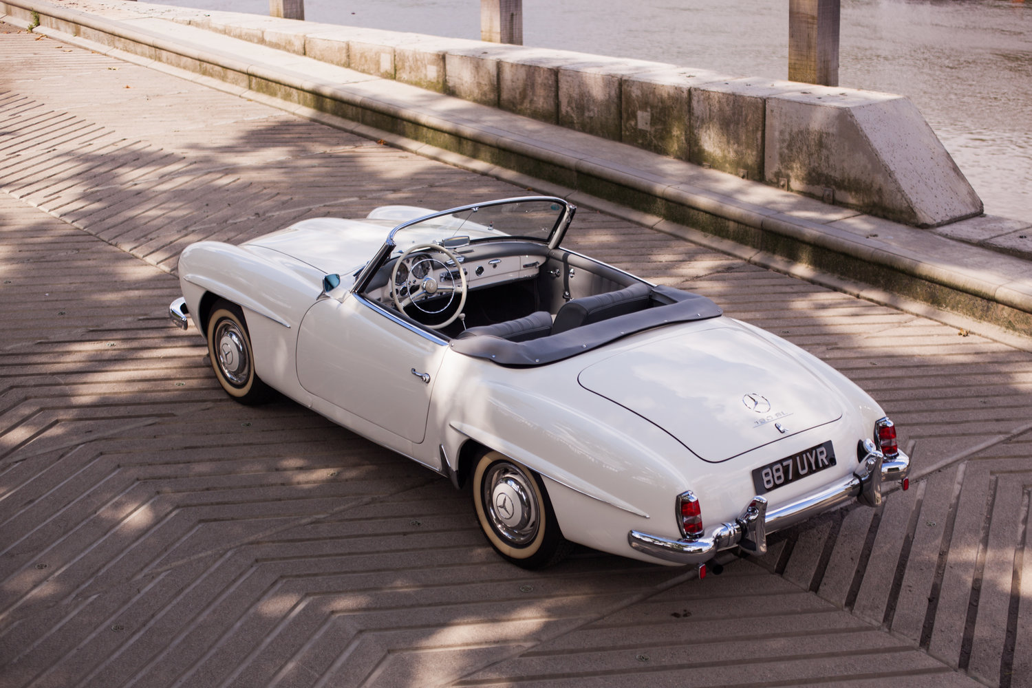 1957 Mercedes-Benz 190SL - Superb Condition and Originality For Sale (picture 3 of 6)