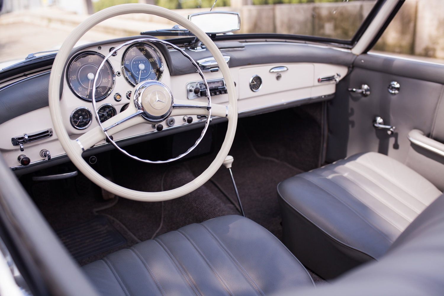 1957 Mercedes-Benz 190SL - Superb Condition and Originality For Sale (picture 4 of 6)