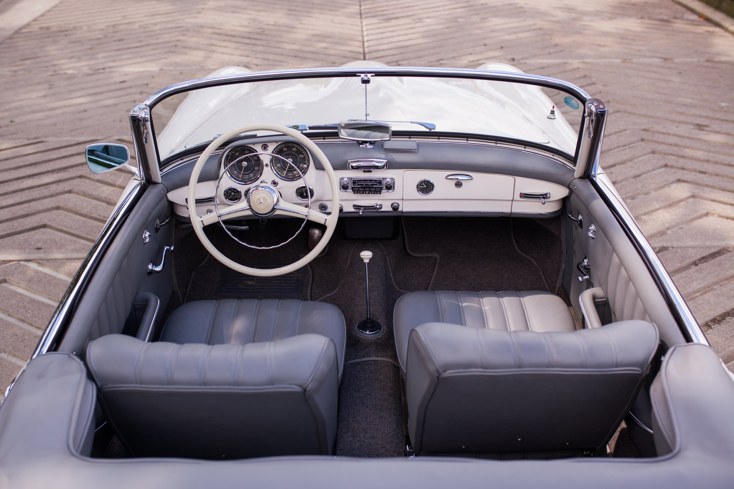 1957 Mercedes-Benz 190SL - Superb Condition and Originality For Sale (picture 5 of 6)