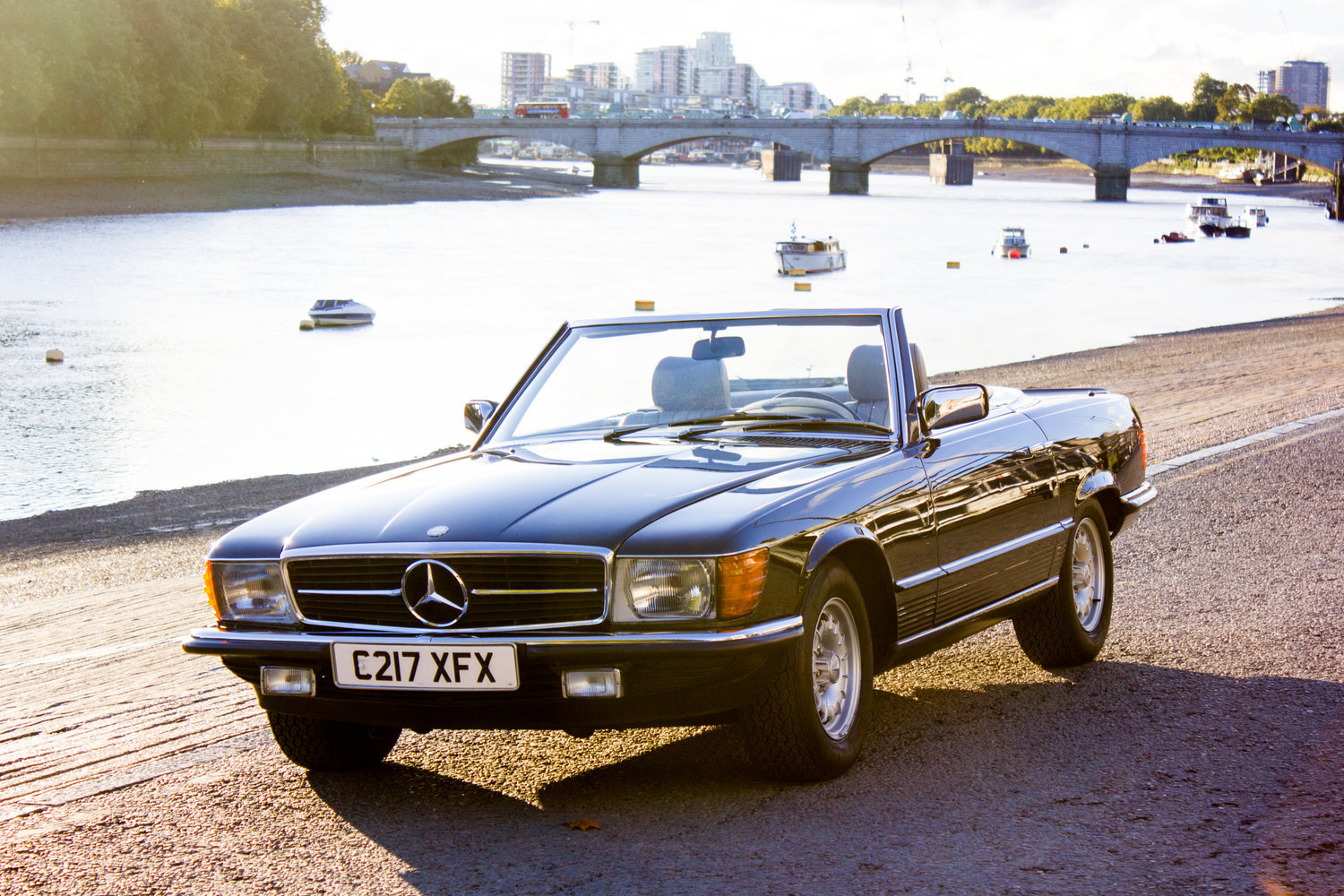 1985 Mercedes-Benz 500SL - LHD, AC, Heated Seats, 43k Miles For Sale (picture 1 of 6)