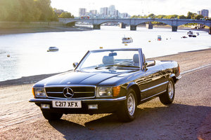 1985 Mercedes-Benz 500SL - LHD, AC, Heated Seats, 43k Miles For Sale